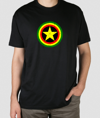 Camiseta Captain rasta