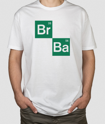 T-shirt serie tv Breaking Bad