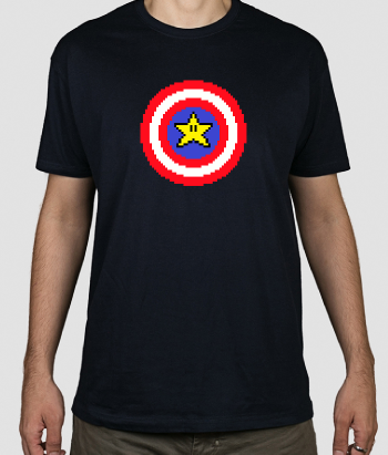 Camiseta Captain pixel