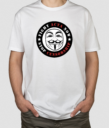 Camiseta Anonymous censorship