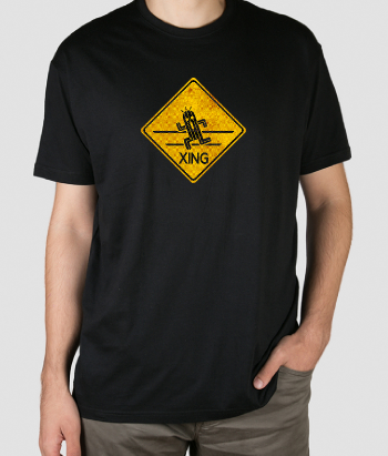 Camiseta Cactuar crossing
