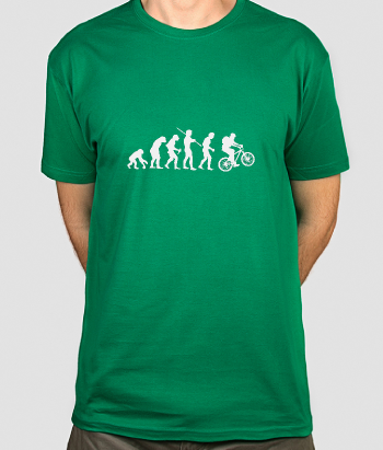 Funny Cyclist Evolution Shirt