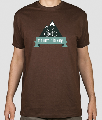T-shirt vélo Moutain biking
