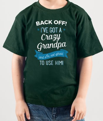 Back Off Grandpa T-Shirt