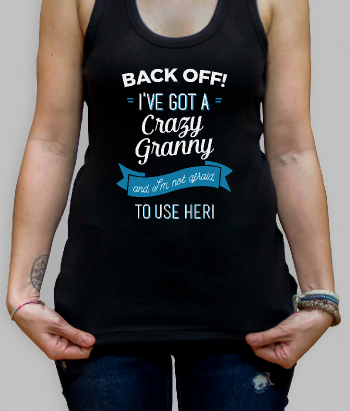 Back Off! Grandma T-Shirt