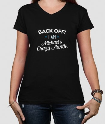 Back Off Auntie T-Shirt