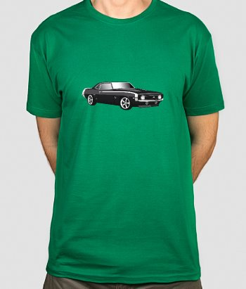 T-shirt retro Chevrolet Camaro