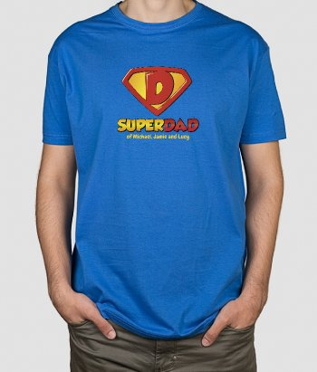 Superdad Of T-Shirt
