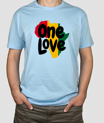 T-shirt One Love Afrika