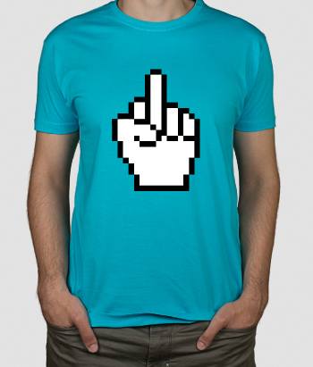 lustiges T-Shirt Fuck You Cursor