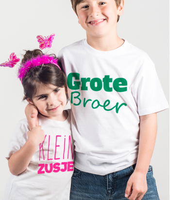 T-shirt duo broer & zus