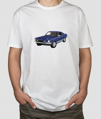 Camisola retro Ford Mustang
