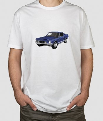 T-Shirt Oldtimer Ford Mustang