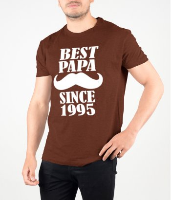 T-Shirt Best Papa since