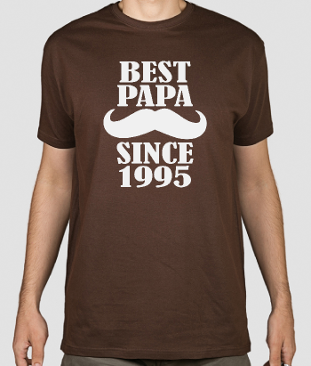 Camiseta personalizable Best Papa