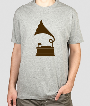 T-shirt musique Icône record player