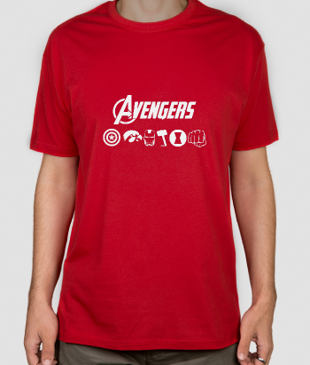 T-shirt comic icone Avengers