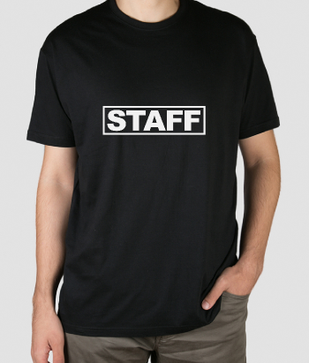 Camiseta original Staff