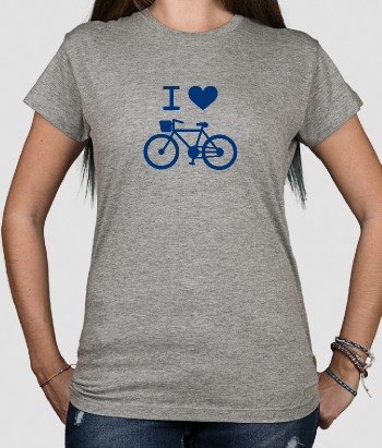 Camiseta I love bici