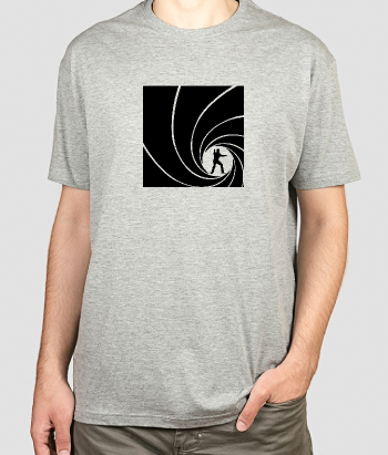 Camiseta James Bond créditos