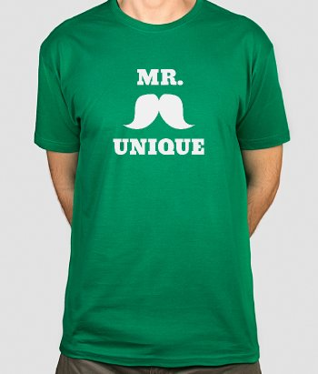 T-shirt rigolo Mr. Unique