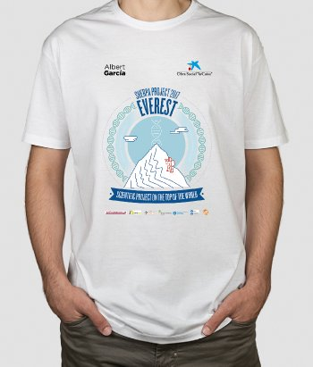 Camiseta Sherpa Project 2017 Everest