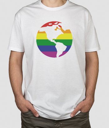Camiseta gay world