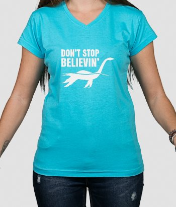 Believe in Nessie T-Shirt