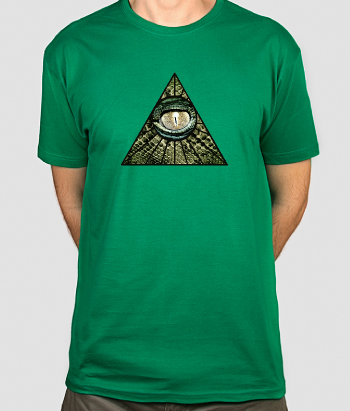 T-shirt Lizard Overlords oog