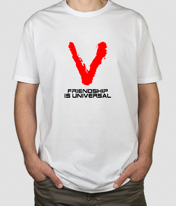Maglia serie tv Frienship is Universal