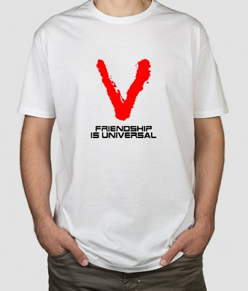 Camiseta series Friendship universal