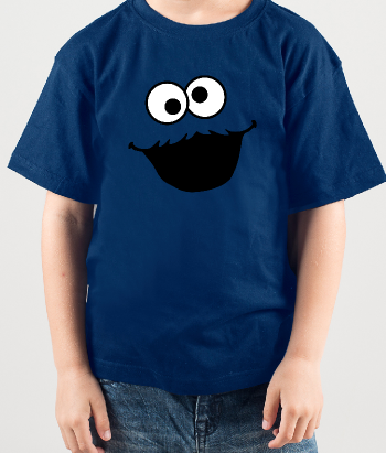 T-shirt cookie monster