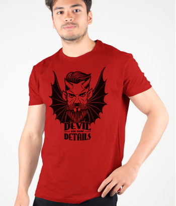 T-shirt devil for the details