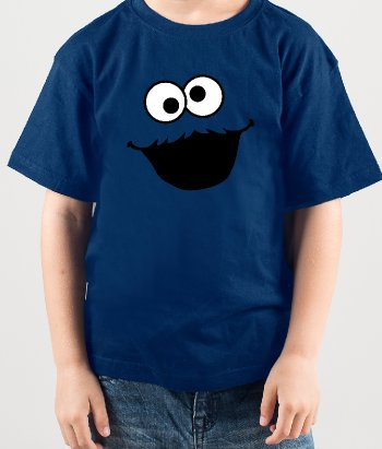 T-shirt per bambini Cookie Monster