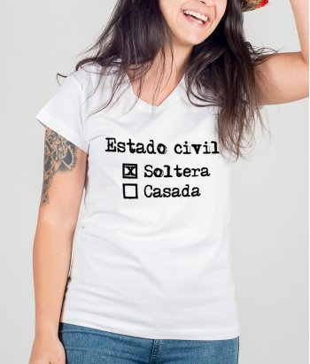 Camiseta divertida Estado civil