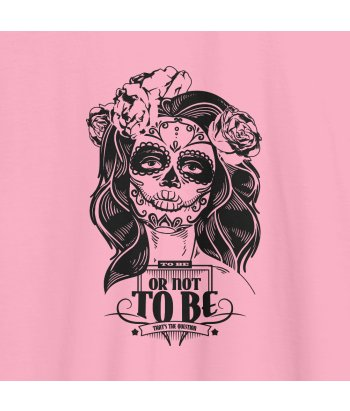 Camiseta juvenil to be or not to be