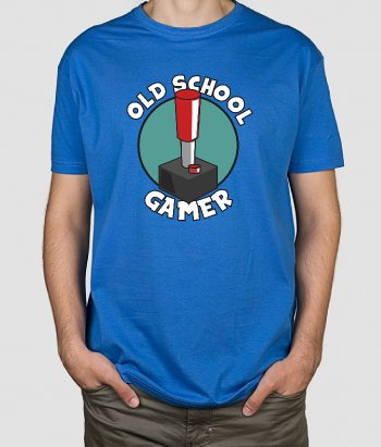 Camiseta gamer old school