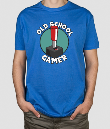 T-shirt retro Old School Gamer