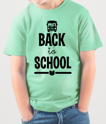Camiseta infantil Back to School