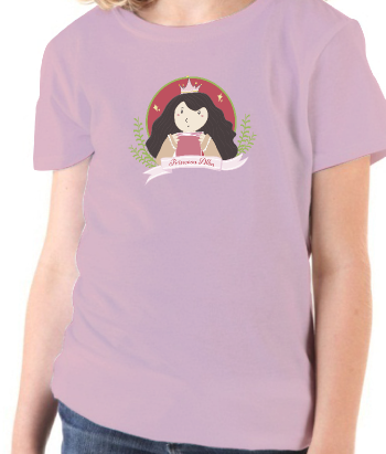 Camiseta princesa personalizable