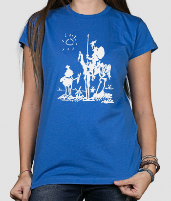 T-shirt Don Quijote van Picasso