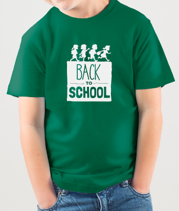 T-shirt kinderen Back to School