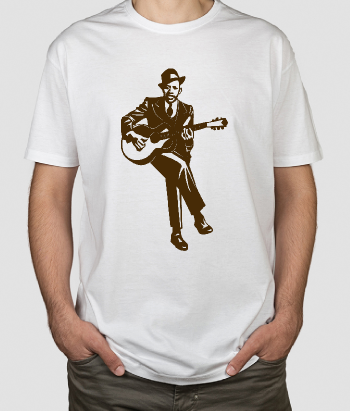 T-shirt muziek Robert Johnson