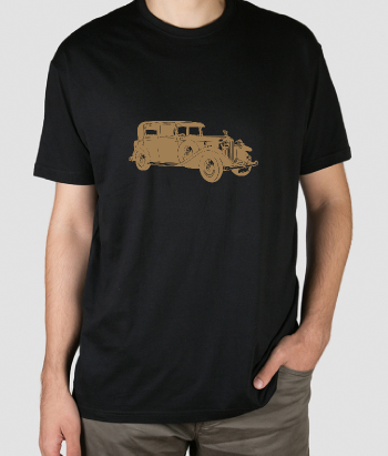 Camiseta Rolls Royce antiguo