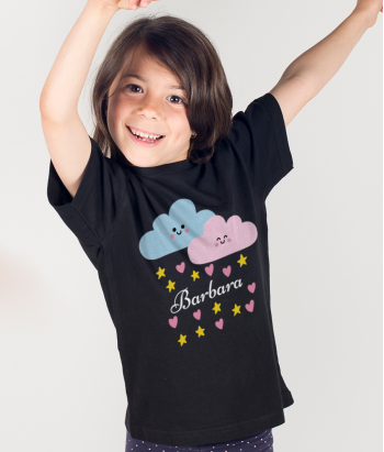 Personalised cloud T-shirt
