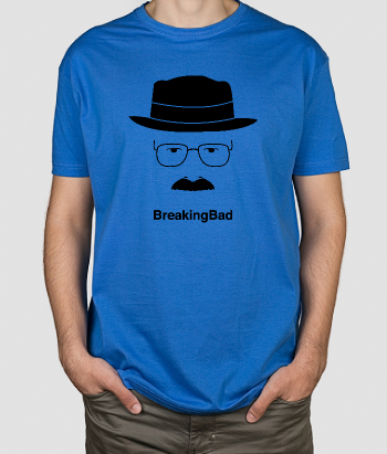 T-shirt Breaking Bad Silhouet Heisenberg