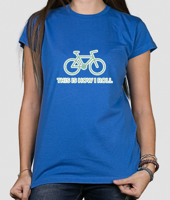 How I Roll Cycling T-Shirt