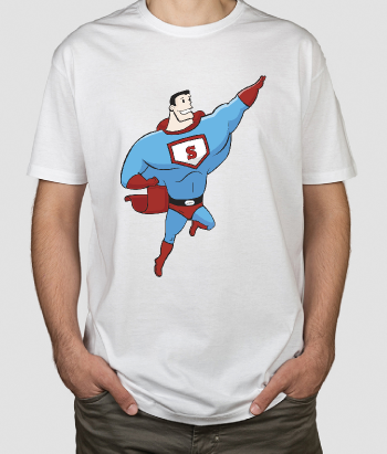 T-shirt Cartoon Superman