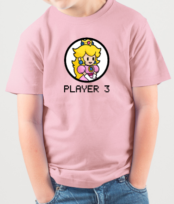 Camiseta Princesa player three