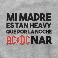 Camiseta divertida Madre heavy